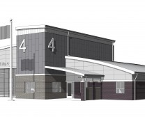 Kokomo Fire Station No. 4 - 3D View